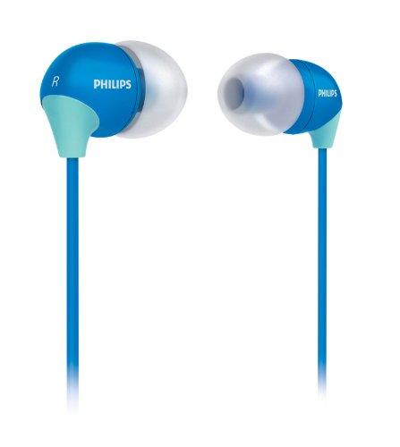 Philips SHE3582 InEar-Kopfhörer mit austauschbaren Kappen blau