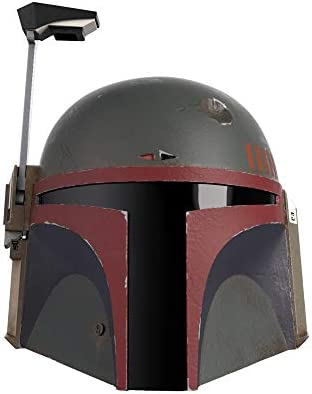 Star Wars The Black Series Boba Fett Re Armored Premium Electronic Helmet The Mandalorian Roleplay product image