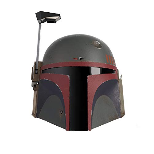 Star Wars The Black Series Boba Fett (Re-Armored) Premium Electronic Helmet, The Mandalorian Roleplay Collectible for Kids Ages 14 and Up