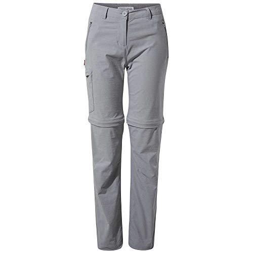Craghoppers NL TRS Pro Conv Pantalon, Nuvola Grigia, 14 Femme