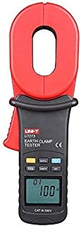 WYZXR UT273 Clamp Earth Ground Tester; 1000ohm Ground Resistance Tester, Data Storage/Data Hold/LCD Backlight