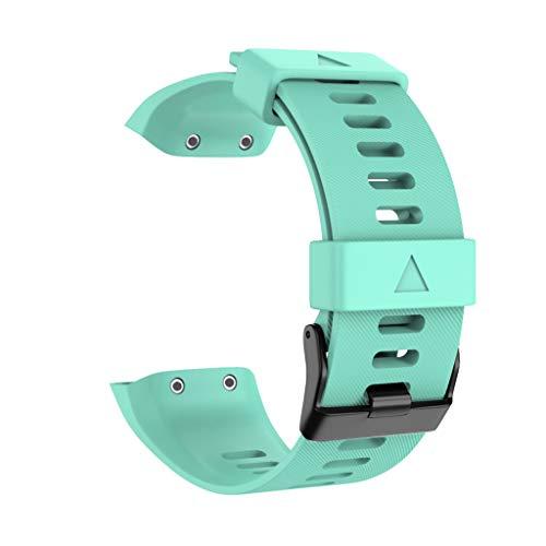 Baohooya Correa de Reloj para Garmin Forerunner 35 - Silicona Deportiva Moda Correa Pulsera - Repuesto Banda de Reloj Watch Band Accesorios para Hombre Mujer
