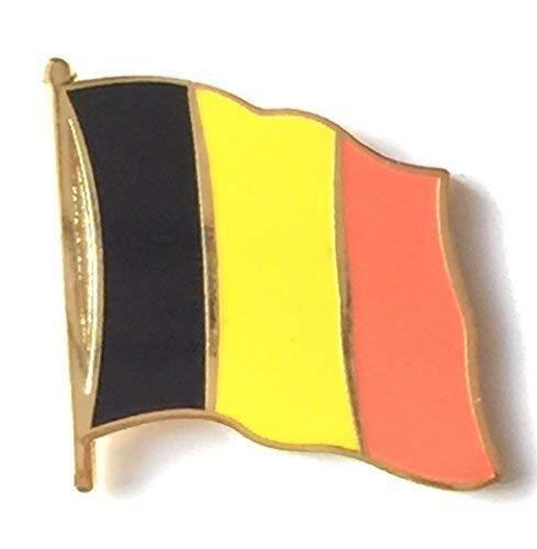 Digni Pin's (épinglette) Drapeau Belgique - 2 x 2 cm