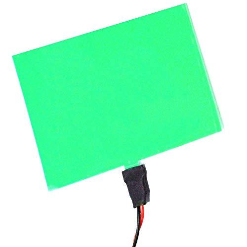 BeMatik - Elektrolumineszente Panel 100x100 mm grün EL