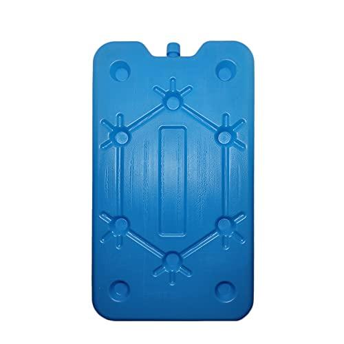 VIRSUS Accumulatore di Freddo, 4 Pezzi di mattonelle da 400ml ciascuna di Ghiaccio per contenitori e Borse Termiche di Colore Blu, tavolette Ghiaccio, icepack refrigerante per Mare, Picnic, Vacanze