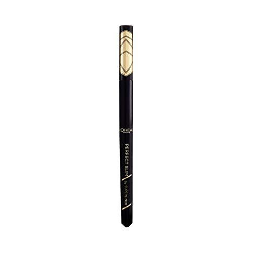 L'Oréal Paris, Delineador Líquido Super Liner Perfect Slim, Negro Intenso y preciso, Resistente al Agua, 01 Intense Black