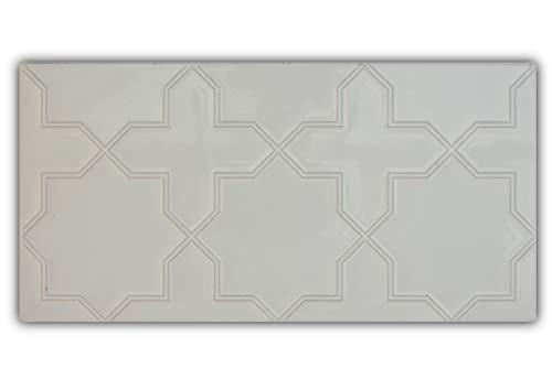 Azulejos de cerámica realizados de forma artesanal, especiales para baños, cocinas, patios etc. Óptimo para exterior e interior.(Precio 25 unidades)