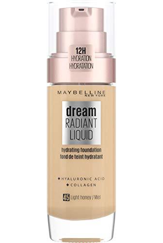 Dream Radiant Liquid Fond de teint soin hydratant 12h 45 - Miel Dore