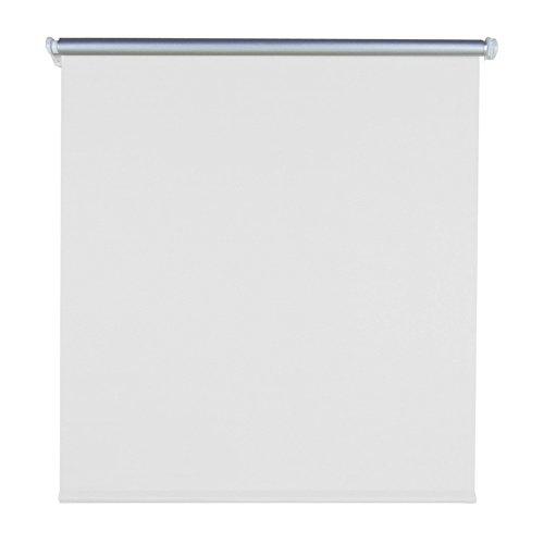 HENGMEI ThermoRollo Verdunkelung Fenster-Rollo Klemmfix ohne Bohren-Weiß weitere Größen (90 x 160 cm)