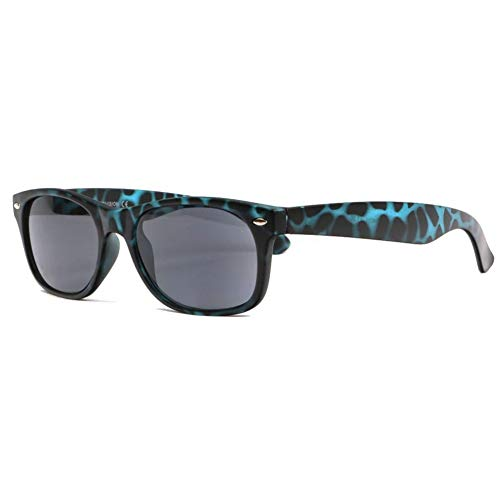 Gafas con lupa solares azules y negras, de tendencia Gany – Unisex azul azul Dioptrie 3,5