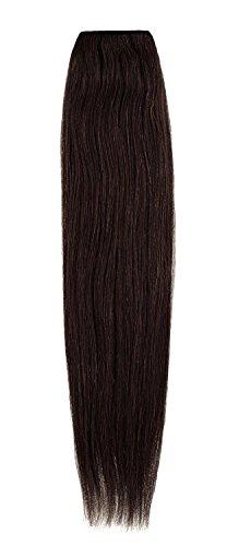 American Dream Extensions capillaires 100% cheveux humains 50,8 cm qualité Platine – Couleur 3 – Brun Moyen