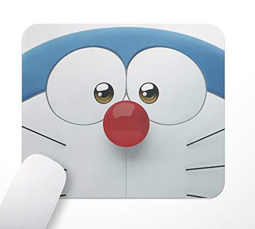 Gaming Office Anime Doraemon - Alfombrilla de ratón antideslizante (base de goma, 24 x 20 cm, superficie textil suave y efecto antiestático)