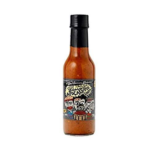 Torchbearer Zombie Apocalypse Ghost Pepper Hot Sauce, 142ml
