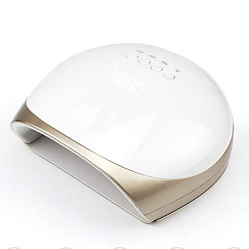 HAJZF Máquina De Uñas De Manicura De Secador De Uñas 68W para Uñas UV LED Lámpara De Gel De Secado De Uñas Sensor De Infrarrojos De 3 Tiempos, Accesorios De Herramientas Profesionales para Uñas