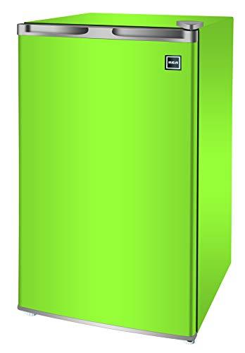 RCA RFR321-FR320/8 IGLOO Mini Refrigerator, 3.2 Cu Ft Fridge, Lime
