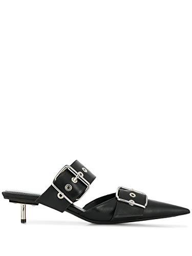 Balenciaga Luxury Fashion Donna 565428WAZN01000 Nero Pelle Scarpe con Tacco | Stagione Outlet