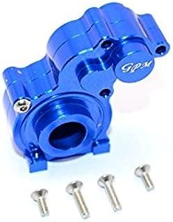Axial SMT10 Grave Digger (AX90055) Upgrade Parts Aluminum Center Transmission Case - 1 Set Blue