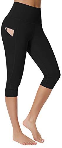 UMIPUBO Leggins Mujer Push Up Pantalones Deporte Leggings de Entrenamiento Mallas Pantalones Deportivos Leggings Mujer Yoga de Alta Cintura Pantalones Cortos Bolsillo Pantalones de Yoga