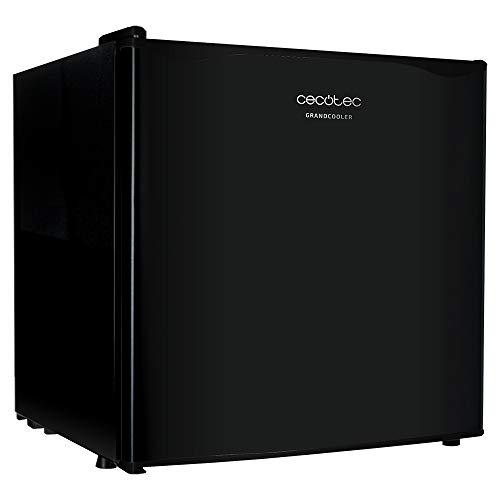Cecotec Minibar GrandCooler 2000 SilentCompress Black. Capacidad 46 litros, Compresor incorporado, Temperatura regulable, Clasificación energética A+
