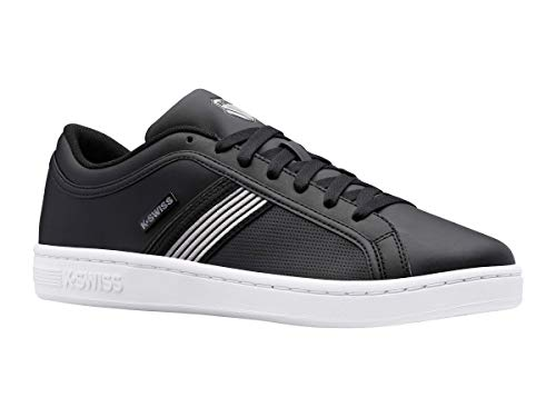 K-Swiss Herren Court Northam Sneaker, Schwarz/Stingray/Weiß, 46 EU