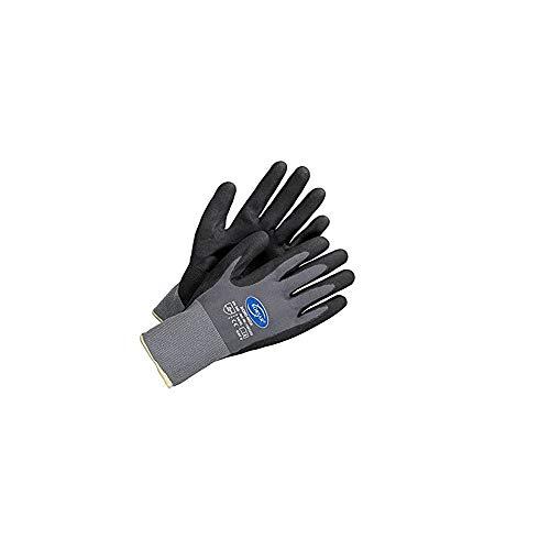 Arbeitshandschuhe - 12 Paar Größe 10 / XL Arbeitsschutz KORSAR® Kori-Nox schwarz/grau