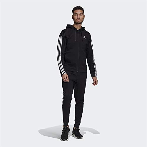 adidas M Rib Tracksuit, Survêtement Homme, Black, 2XL