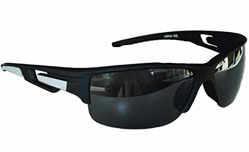 Gil SSC Sportbrille Sonnenbrille Schwarz Grau Black Motorradbrille Radbrille Sport M 25