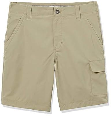 Amazon Essentials Men's Standard Cargo Stretch Outdoor Lightweight Short, Light Khaki, 32