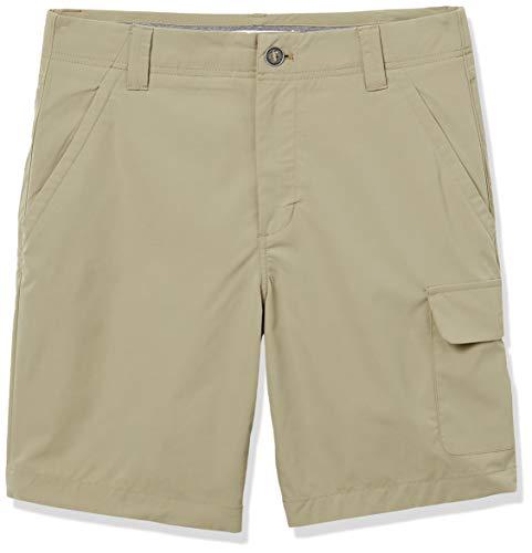 Amazon Essentials Men's Standard Cargo Stretch Outdoor Lightweight Short, Light Khaki, 38