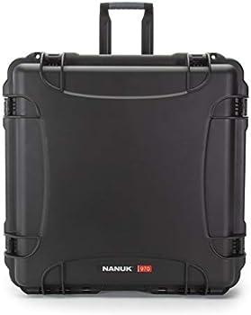 Nanuk 970 Wheeled Hard Utility Case with Cubed Foam Insert