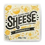 Sheese Taco Queso cheddar suave 200g | Vegano (Pack de 4)