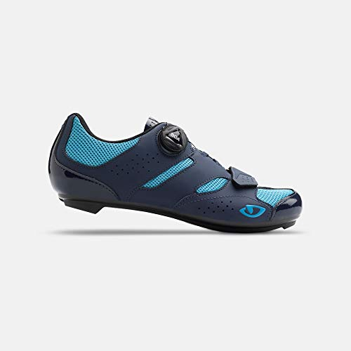 Giro Savix W Womens Road Cycling Shoe − 40, Midnight/Iceberg (2020)