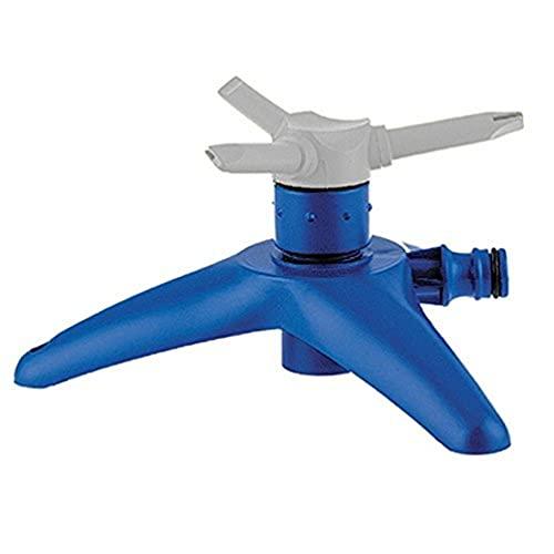 Tatay Aspersor 3 Brazos con Base Top Line, 15l, min, 80 m2, Conector Universal, Protección Solar, Fácil Instalación, Azul