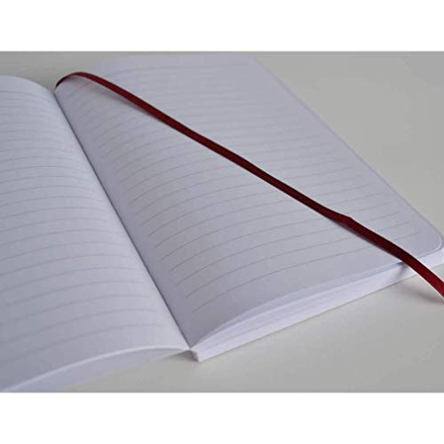 Lined Refill for SohoSpark Writing Journals, 240 Numbered Pages, Lay Flat Binding