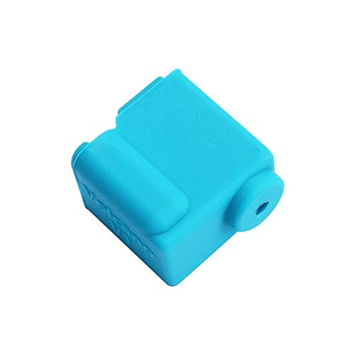 belupai 20 * 20 * 11.5mm Hotend Silicone Case Cover For 3D Printer Part - Blue