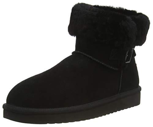 Koolaburra by UGG Women's Sulana Mini Boot, Black, 41 EU