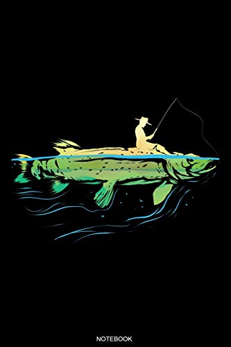 Notebook: Detailed Fishing Log Book for Catches Pike Fishing Gift Fisherman Journal Angler Present Dad Fisher Grandpa License Fishing Trip Diary Travel Planner Booklet Memo I Size 6 x 9 I 120 Pages