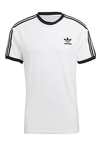 adidas GN3494 3-Stripes Tee T-Shirt Uomo White L