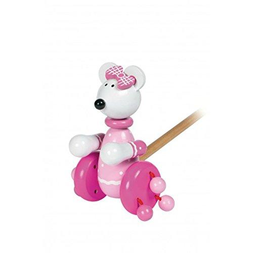 Orange Tree Toys 46005 Pink Mouse.