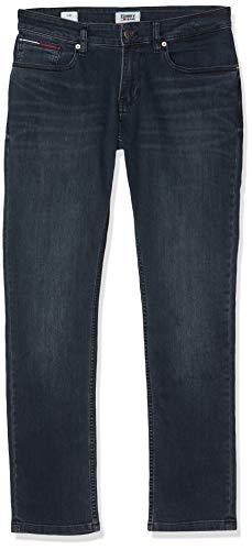 Tommy Jeans Herren Scanton Cobco Slim Jeans, Blau (Cobble Black Comfort 911), W33/L34