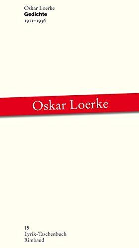 Gedichte: 1911-1936 (Lyrik-Taschenbuch)