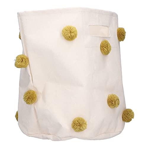 Panier de Rangement Ménage Enfants Jouet Vêtements Serviette Organisateur Panier de Rangement de Linge avec Poignée pour Bébé Garçons et Filles(#2)