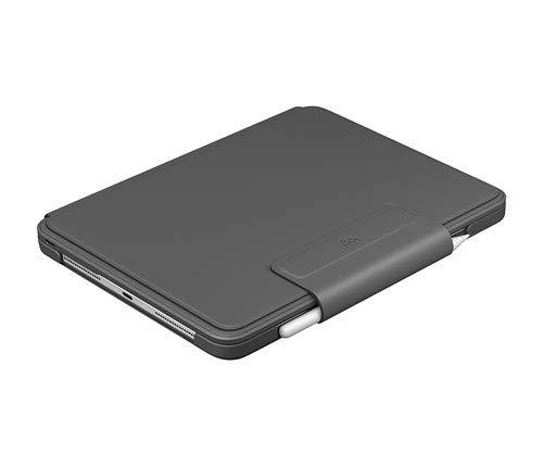Logitech Slim Folio Pro, Funda con Teclado Bluetooth retroiluminado, para iPad Pro de 11 Inch (3ª generación), Negro