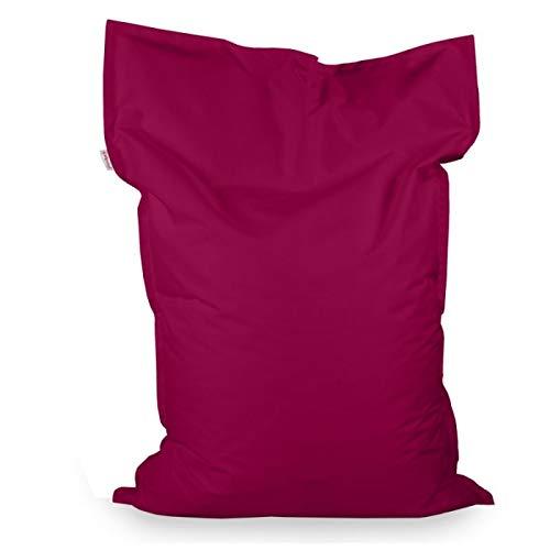 Italpouf Sitzsack Sitzkissen Riesensitsack XL Lila 98 x 138cm 250l Füllung Outdoor Indoor Bean Bag