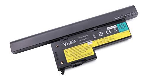 vhbw Akku passend für Lenovo ThinkPad X61 7673, X61s 7669 Notebook (4400mAh, 14.8V, Li-Ion, schwarz)