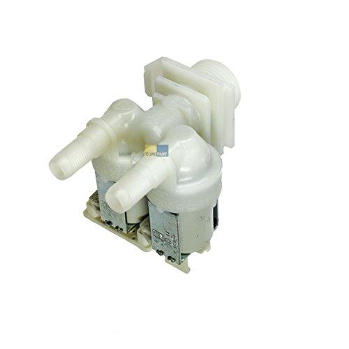 ALTERNATIV Magnetventil 2-fach 180° 10,5mm Ø Waschmaschine wie Bosch Siemens 171261