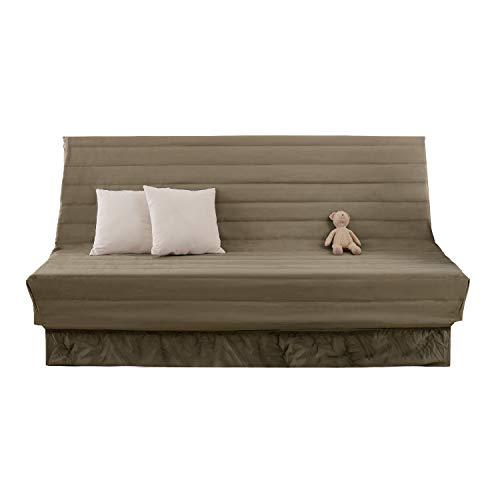 Deconovo 1/2/3/4 Seater Oxford Sofa Covers for Moving Khaki