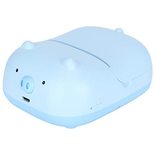 Mini impresora, impresora de imágenes, diseño compacto azul Mini escuela de impresión de preguntas incorrectas para el hogar
