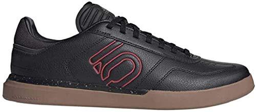 adidas Sleuth DLX, Zapatillas Deportivas Hombre, Core Black/Scarlet/Gum M2, 44 2/3 EU