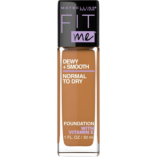 Maybelline New York Fit Me Dewy + Smooth Foundation Packaging May Vary, 355 Coconut, 1 Fl Oz